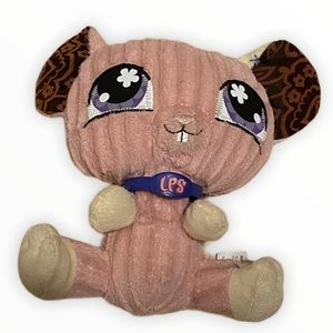 Littlest pet shop small mouse stuffed animal
